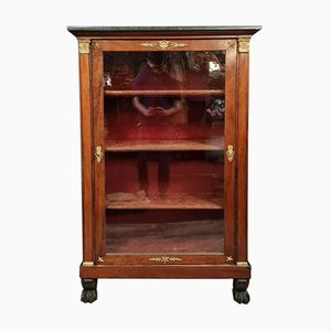Empire Mahogany Glazed Bookcase, 1810s