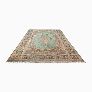Großer orientalischer Vintage Keshan Teppich