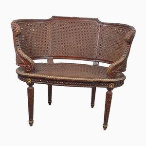 Louis XVI Stil Holzsessel, 2er Set