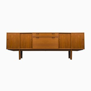 Large Dutch Teak Sideboard with Bar from Fristho, 1960s