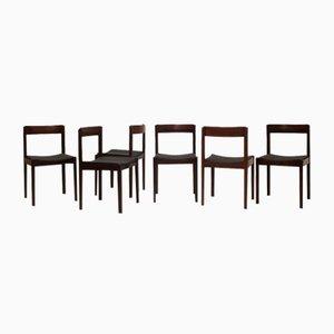 Esszimmerstühle von Giovanni Ausenda für Stilwood, 1960er, 6er Set