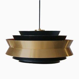 Lampada da soffitto Mid-Century di Carl Thore per Granhaga Metallindustri, anni '60