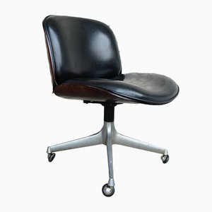 Italian Office Swivel Chair by Ico Parisi for MIM, 1960s