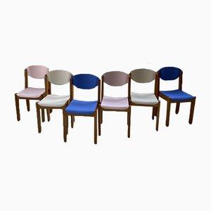 Buchenholz Stühle, 1980er, 6er Set
