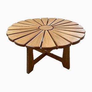 Tavolino da caffè Mid-Century in quercia