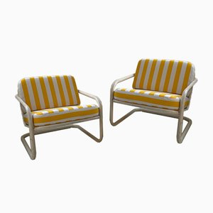 Prisunic Garden Armchairs by Marc Berthier, Set of 2