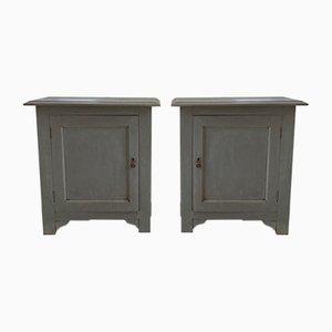 Gray Confiturier Cabinets, Set of 2