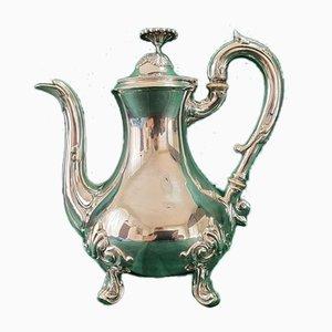 Brocca antica in argento, Francia, fine XIX secolo
