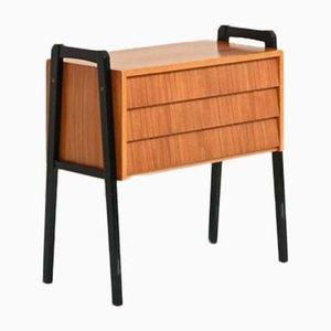 Vintage Scandinavian Teak Dresser, 1960s
