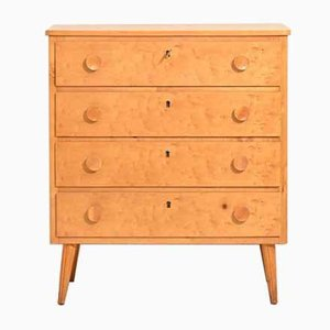 Vintage Swedish Chest of Drawers, 1950s