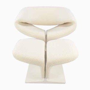 Ribbon Chair & Fußhocker von Pierre Paulin für Artifort, 1960er, 2er Set