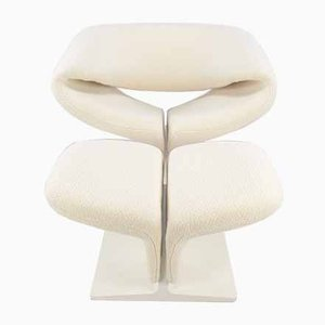Ribbon Chair & Ottoman by Pierre Paulin for Artifort, 1960s, Set of 2