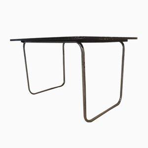 Tavolo da pranzo in acciaio tubolare di Fritz Hansen, anni '30