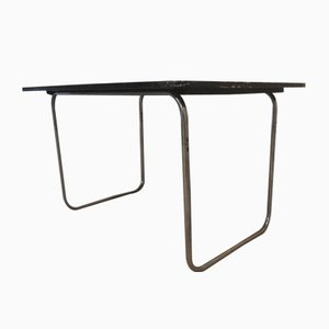 Tubular Steel Dining Table from Fritz Hansen, 1930s