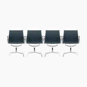 EA 107 Chairs by Charles & Ray Eames for Vitra, 1980s, Set of 2