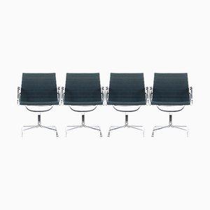 EA 107 Stühle von Charles & Ray Eames für Vitra, 1980er, 2er Set