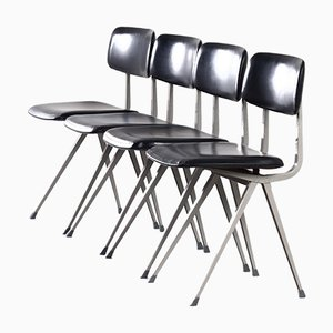 Result Chairs by Friso Kramer and Wim Rietveld for Ahrend De Cirkel, 1960s, Set of 4