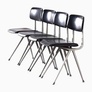 Result Stühle von Friso Kramer und Wim Rietveld für Ahrend De Cirkel, 1960er, 4er Set