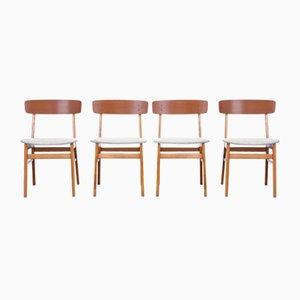 Stühle von Farstrup, 4er Set