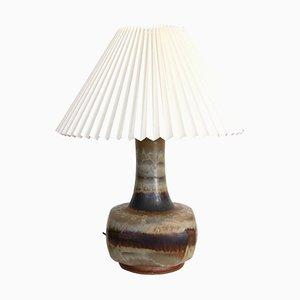 Keramik Tischlampe von Jette Hellerøe für Stentøj