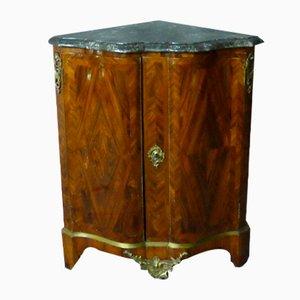 Marquetry Corner Cabinet