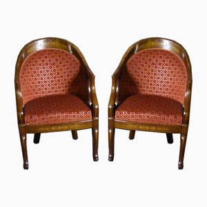 Chairs by Charles X, Set of 4
