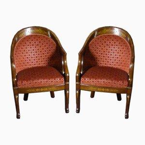 Stühle von Charles X, 4er Set