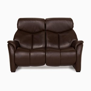 Nevada Sofa aus Braunem Leder von Hukla