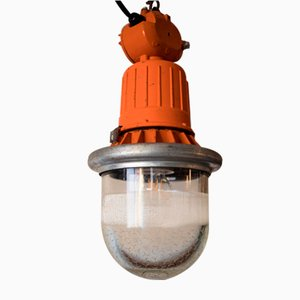 Ukrainische Lampe in Orange