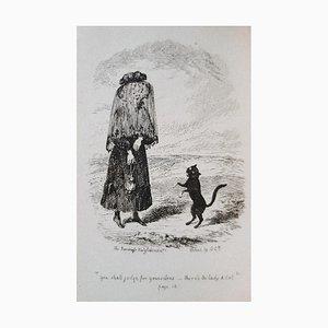 George Cruikshank - Cats Tail - Rare Book Illustrated by G. Cruikshank - 1831