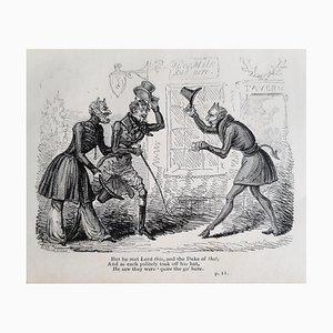 George Cruikshank - Comic Poems - Rare Book Illustrated by G. Cruikshank - 1830