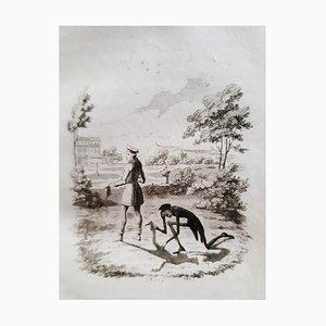 George Cruikshank - Peter Schlemihls Wandersame G - Rare Book Illustrated by G. Cruikshank - 1827