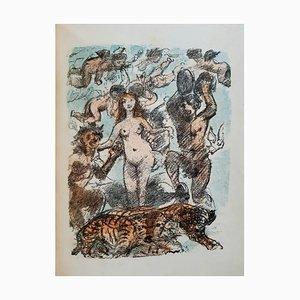 Lovis Corinth - Venuswagen - Original Rare Book Illustrated by Lovis Corinth - 1919