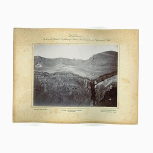 Unknown - The Fujiama Krater - Original Vintage Photo - 1893 by Prince