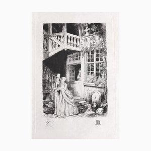Auguste Brouet - Passing - Original Radierung - Frühes 20. Jahrhundert