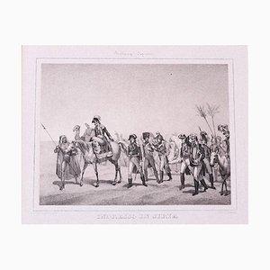 Napoleon - Original Lithograph by Hippolyte Bellangé - 1846