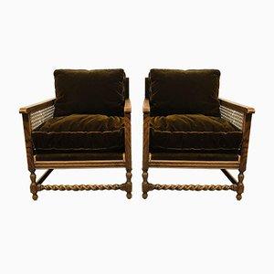 Antikes Wohnzimmer Sofa Set, 4er Set