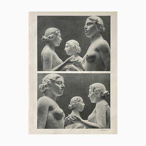Aristide Maillols Sculptures by Erwin Blumenfeld by Revue Verve