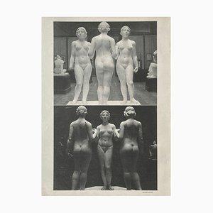 Aristide Maillols Studio by Erwin Blumenfeld by Revue Verve