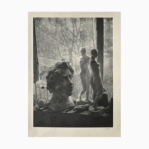 Aristide Maillols Workshop by Brassaï by Revue Verve