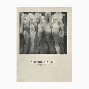 Reportage on Aristide Maillol by Erwin Blumenfeld by Revue Verve