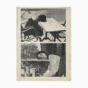 The Nap by Eli Lotar by Revue Verve