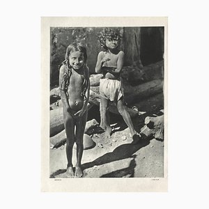 Kids of Mexico by Henri Cartier-Bresson (1934) by Revue Verve