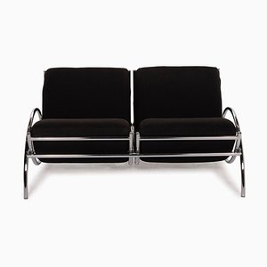 Black Chrome Sofa from Cor Loft