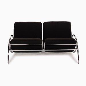 Schwarzes Chrom Sofa von Cor Loft