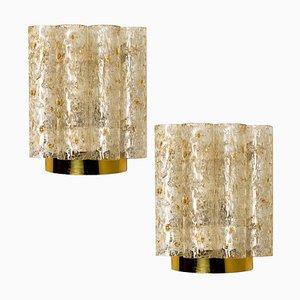 Lampade da parete di Doria per Isa, anni '60, set di 2