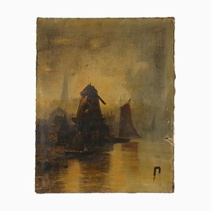 Oil on Canvas by Porto Normanno