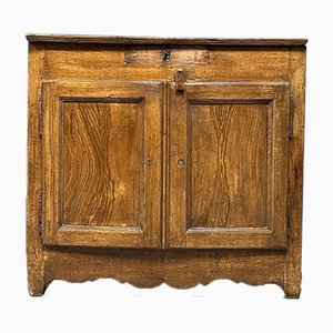 Painted French Farmer Cabinet