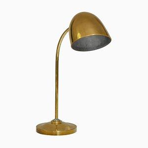 Lámpara de mesa de latón de Vilhelm Lauritzen para Fog & Morup, años 40
