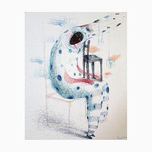 Keziat - The Future Mother - Original Pen Drawing - 2020